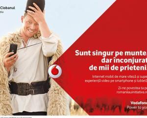 Vodafone face campanie pentru romanii curajosi