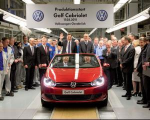 Angajatii Volkswagen primesc marire de salariu, dupa ani de negocieri