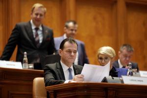 Guvernul de sacrificiu Orban 2, boicotat in Parlament