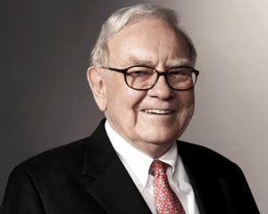 Warren Buffett a mai cumparat cateva zeci de milioane de actiuni