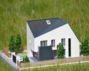 Casa e4 din caramida de la Wienerberger se construieste acum si in Romania