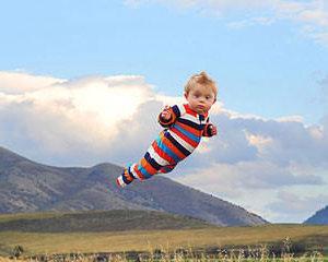 """Nascut cu sindromul Down. Seria de fotografii """"Wil poate sa zboare"""""""