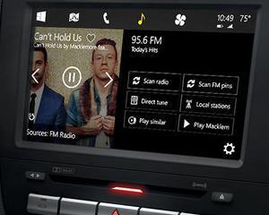 Microsoft aduce Windows-ul in masina ta personala si doreste sa rivalizeze cu Apple CarPlay