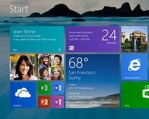 Windows 8 a depasit cota de piata a lui Vista
