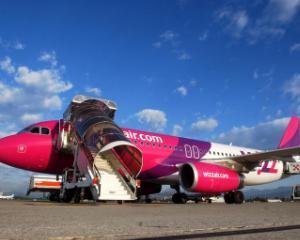 Wizz Air sarbatoreste 5 milioane de pasageri in Cluj-Napoca