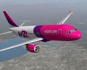 Bilete de avion reduse cu 20% pe toate rutele Wizz Air