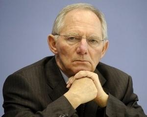 Wolfgang Schauble este pentru retragerea FMI din criza euro