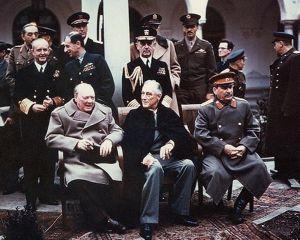 4 februarie 1945: incepe conferinta de la Yalta, cea care a schimbat harta politica a lumii