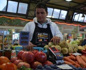 Care este prima piata din Romania in care puteti plati zarzavaturile prin intermediul cardului bancar