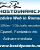 Gazduire, Gazduire web 10 EURO pe An Hosting site in Romania
