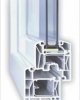 Tamplarie PVC cu geam termopan - Trocal
