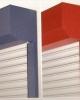 Obloane exterioare cu lamele din PVC