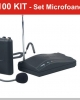 RM100kit- Set microfoane  receivere radio
