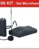 RM100kit- Set microfoane + receivere radio