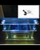 Lumini cu LED-uri (clips) pentru rafturi din sticla, grosime 5-12 mm