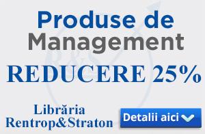 Produse de management - REDUCERE 25%